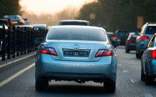 Езда на автомобиле без номерных знаков — сроки и штрафы