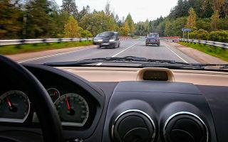 Безопасная дистанция между автомобилями по ПДД