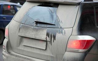 Штраф и наказание за грязные номера автомобиля