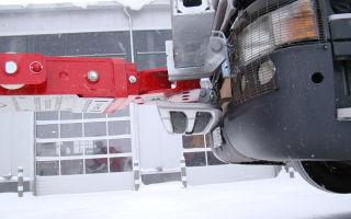 Правила буксировки грузовых машин на жесткой сцепке