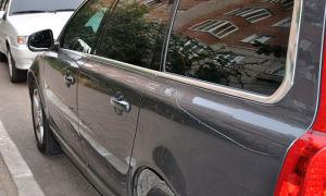 Поцарапали машину во дворе — действия водителя