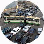 Загруженность дорог Москвы в течение недели