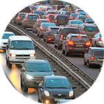 Пробки на Мурманском шоссе