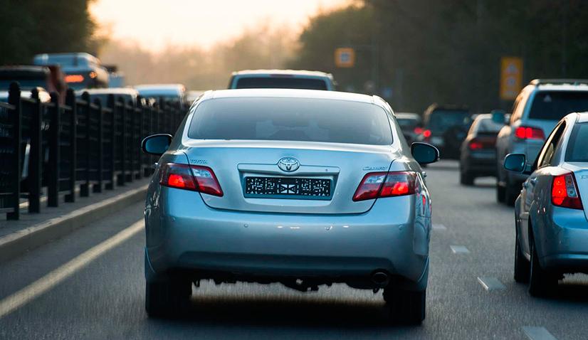 Езда на автомобиле без номерных знаков - сроки и штрафы