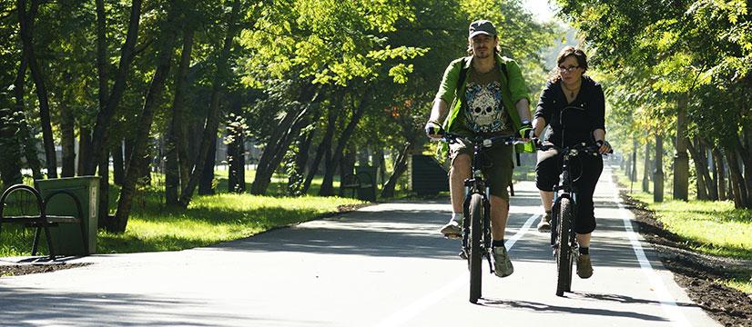 Что такое велосипедная дорожка?