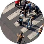 В каких местах разрешено передвигаться пешеходам?