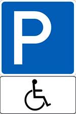 Знак инвалид на автомобиле где можно стоять