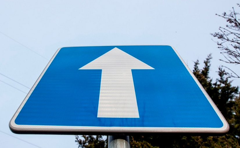 Дорожный знак одностороннее движение - зона действия и штрафы за нарушение