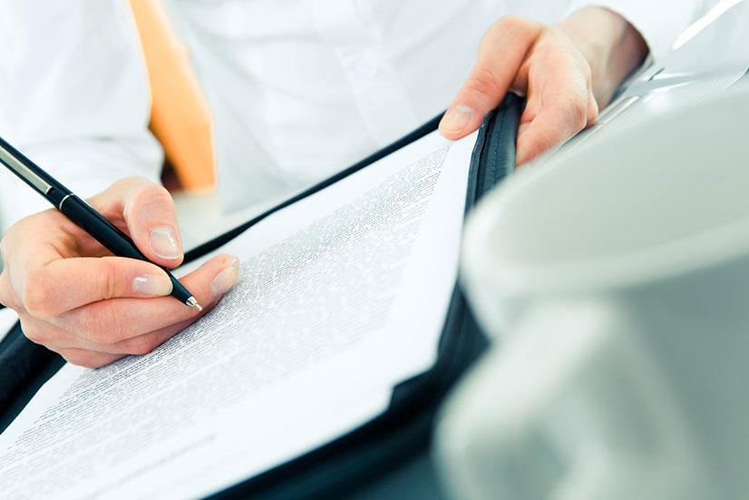 Необходимые документы для оформления договора